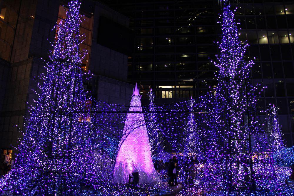 日本東京耶誕點燈汐留六本木Caretta