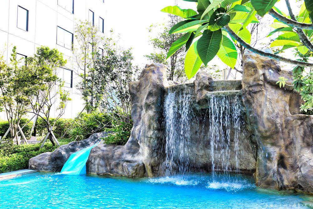 礁溪寒沐酒店乘風居語木居泳池遊戲室