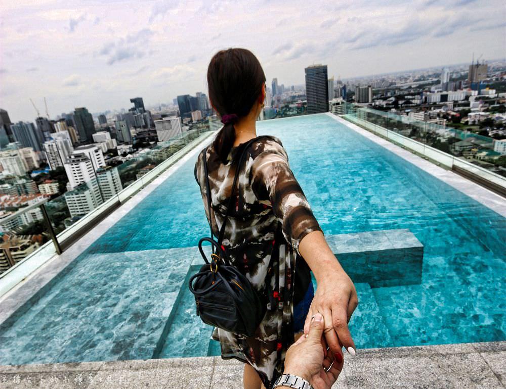 曼谷網美無邊際泳池飯店137