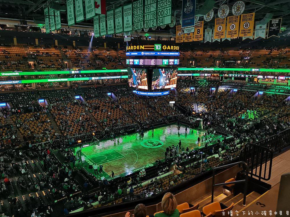 NBA看球賽初體驗︱波士頓TD GARDEN塞爾堤克VS底特律活塞