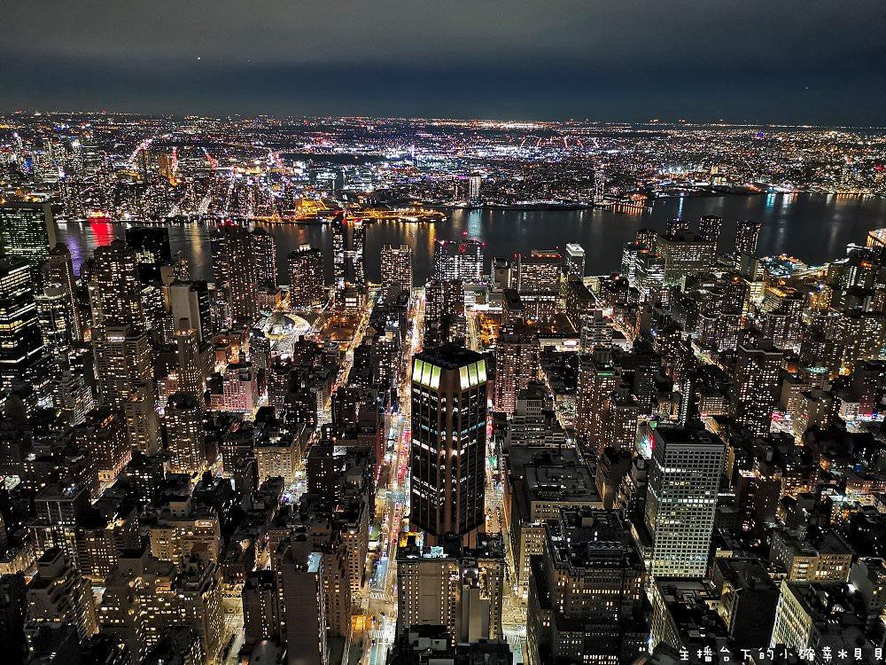 美國紐約景點帝國大廈夜景