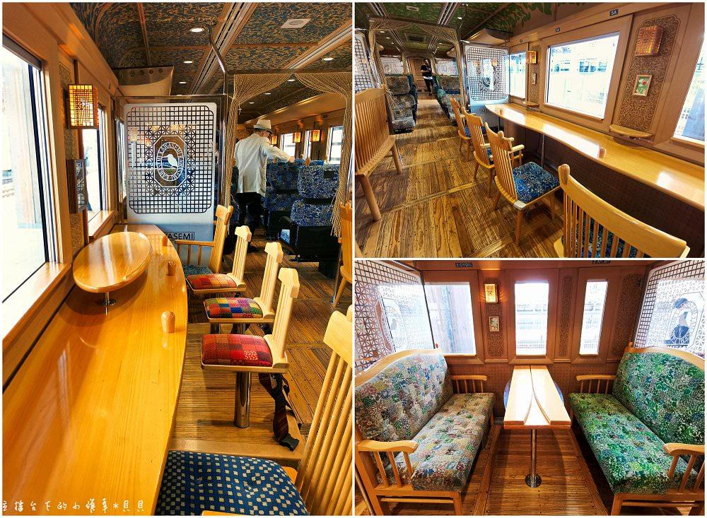 日本JR九州觀光列車翡翠山翡翠列車