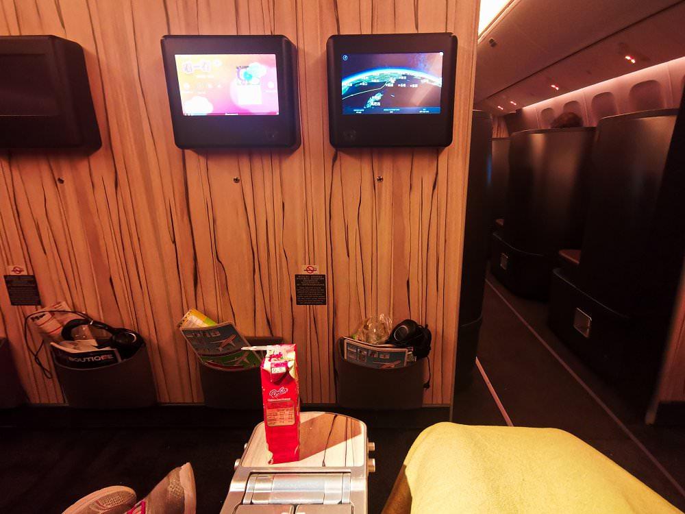 免費升等華航豪華經濟艙台北吉隆坡飛行記錄CI721