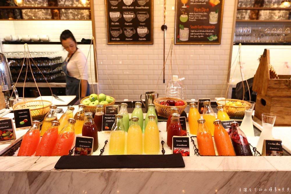 曼谷萬豪蘇拉翁塞bangkok marriott hotel the surawongse早餐