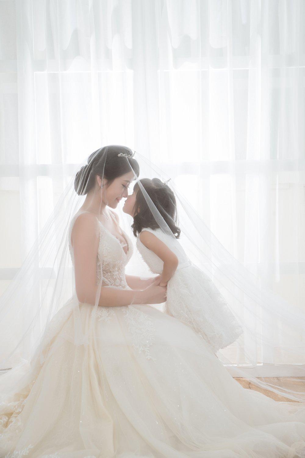 伊頓自助婚紗全家福照親子婚紗