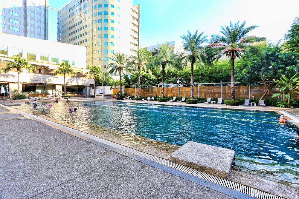 台中永豐棧酒店大墩館親子設施泳池遊戲室