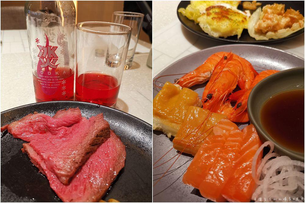 台北國泰萬怡buffet牛排腰子蝦鬆冰火吃到飽