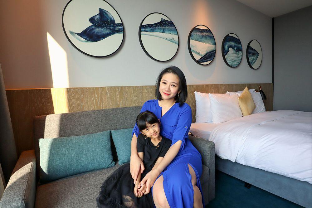 桃園和逸飯店早餐房型優惠價格COZZI Blu