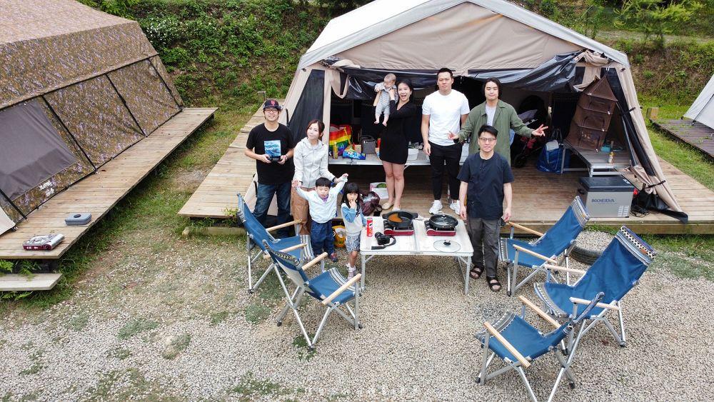 桃園露營飛鼠不渴狩獵帳露營區免搭帳交通