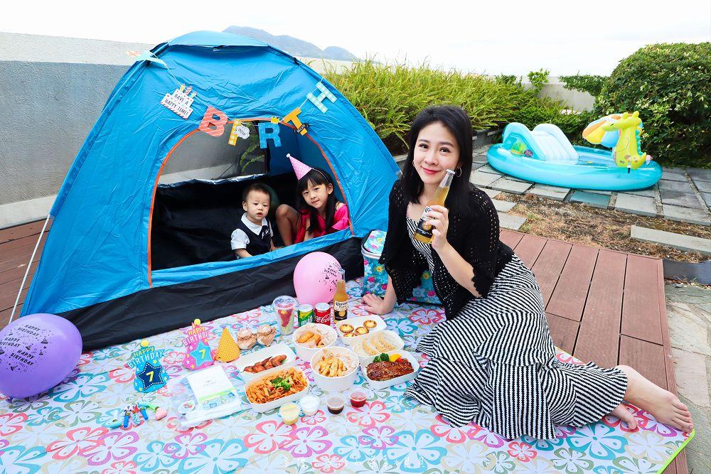 微解封住宿淡水福容玩水露營野餐看風景