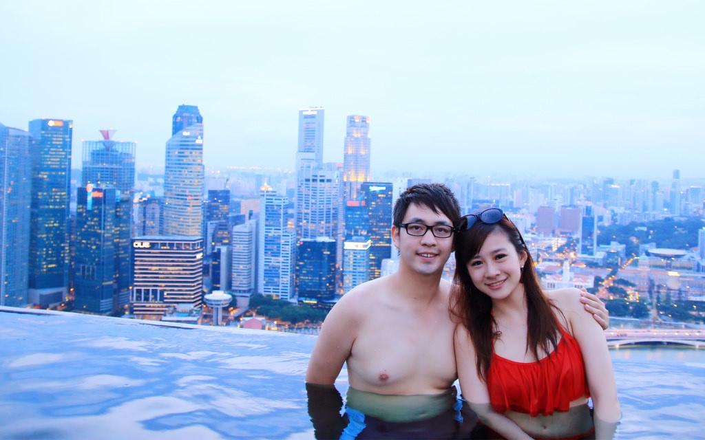 新加坡濱海灣金沙酒店marina bay sands無邊境泳池空中花園26.jpg