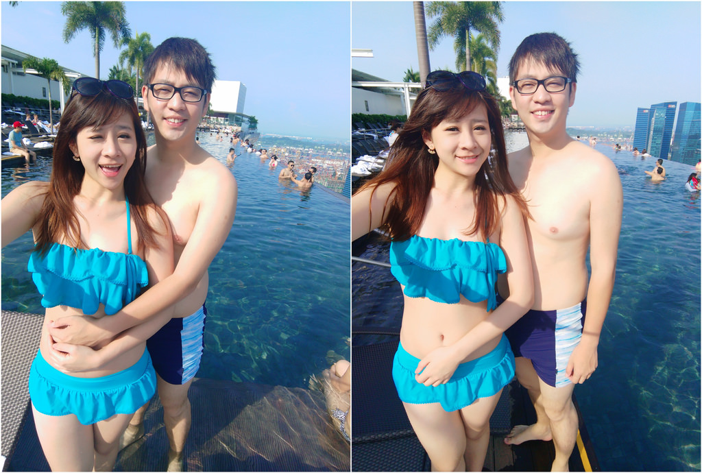新加坡濱海灣金沙酒店marina bay sands無邊境泳池空中花園10.jpg