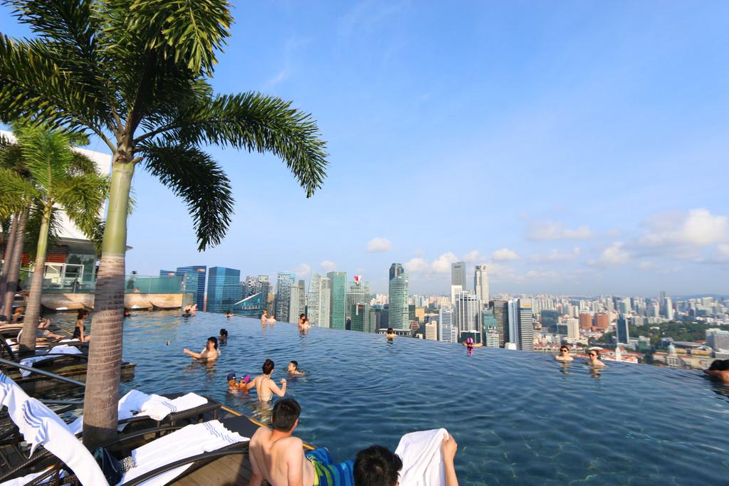 新加坡濱海灣金沙酒店marina bay sands無邊境泳池空中花園34.jpg