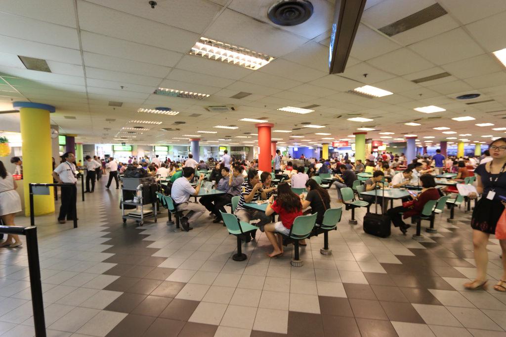 新加坡樟宜機場員工餐廳航廈美食街12.jpg