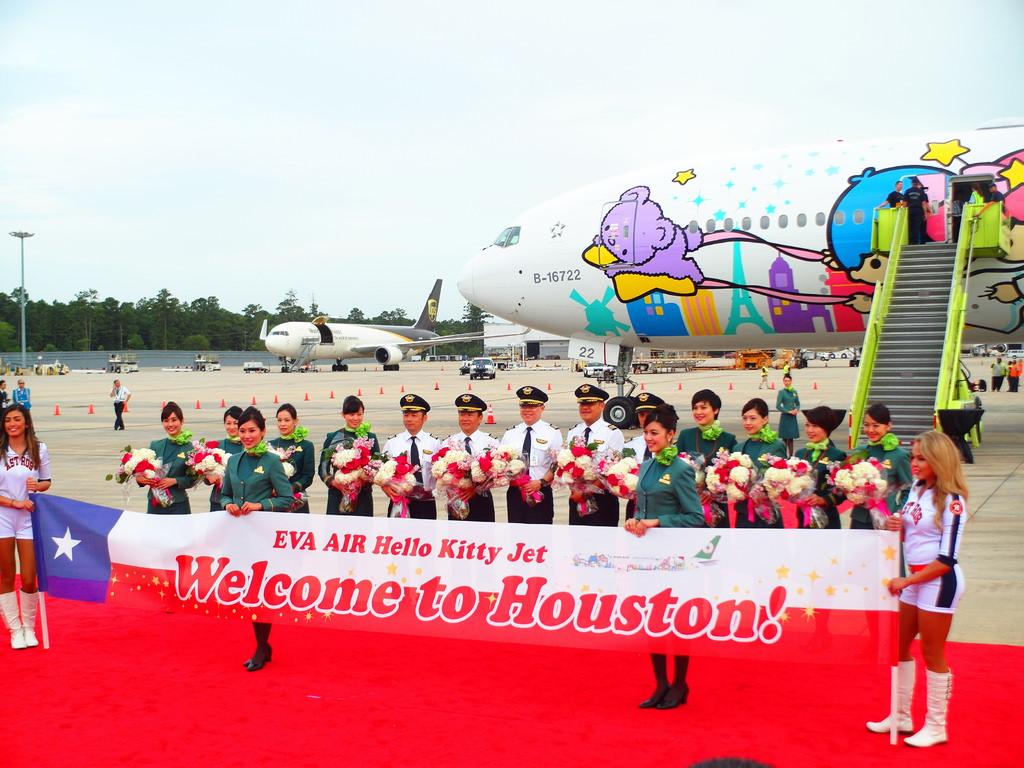 長榮航空直飛美國休士頓KITTY機星空機商務艙桂冠皇璽艙首航22.jpg