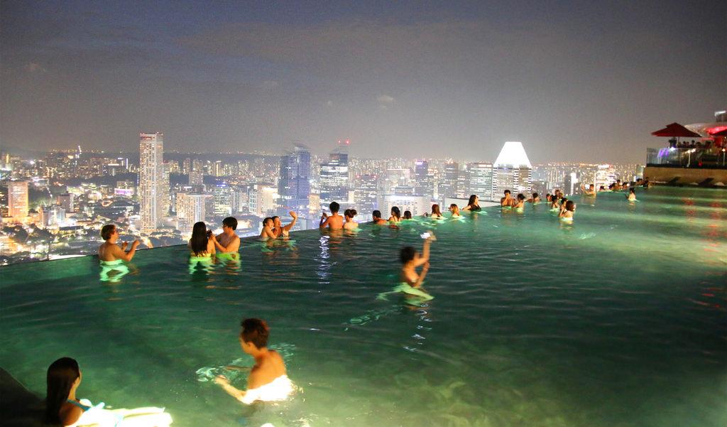 新加坡濱海灣金沙酒店marina bay sands無邊境泳池空中花園33.jpg
